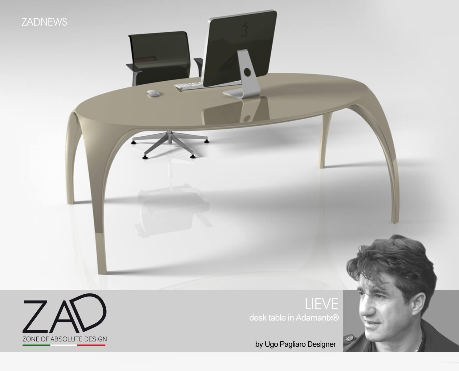 Tavolo Lieve_designer Ugo Pagliaro per Zad Italy 1